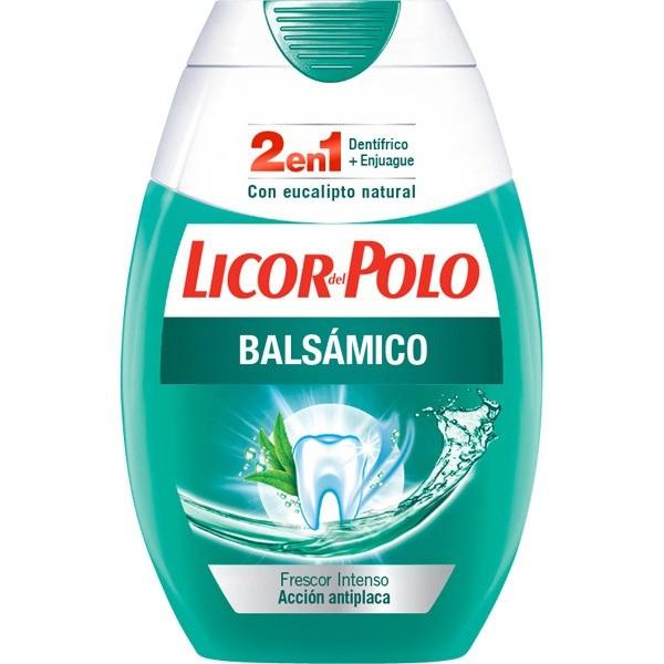 Licor del Polo Higiene Bucal 2 en 1 Balsámico 75 ml