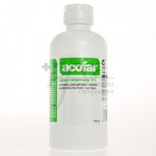 ACOFAR AGUA OXIGENADA 5% 250 ML
