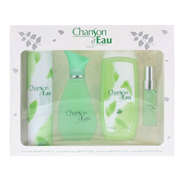 Chanson d'Eau Mujer Colonia 100 ml + Desodorante Spray 200 ml + Gel de Ducha 200 ml + Colonia 15 ml