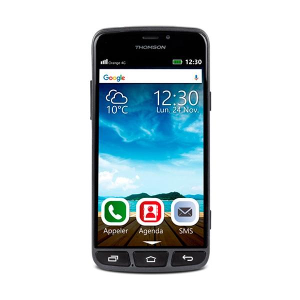 Thomson serea 500 negro móvil 4g 5.0'' tft ips hd/4core/8gb/1gb ram/8mp/5mp bluetooth gps
