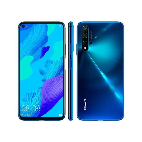 Huawei nova 5t azul móvil 4g dual sim 6.26'' ips fullhd+ octacore 128gb 6gb ram quadcam 48mp selfies 32mp