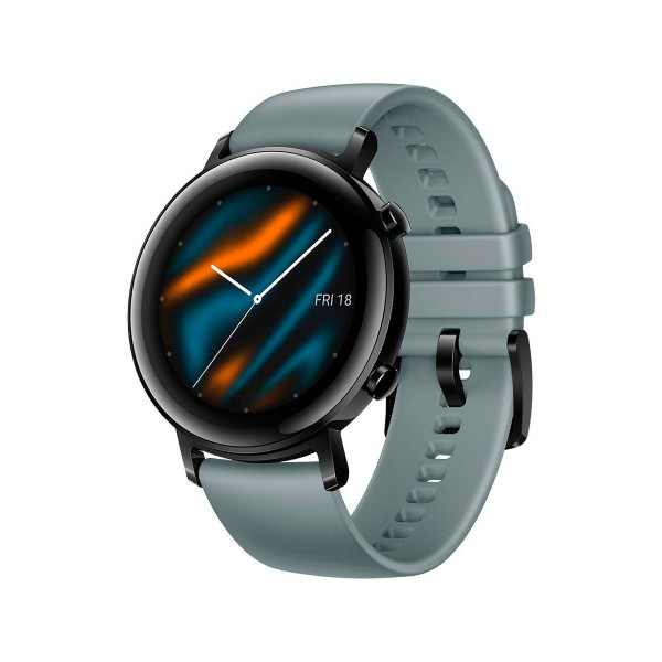 Huawei watch gt 2 classic edition azul cyan 42mm smartwatch táctil amoled 1.39'' gps 5atm
