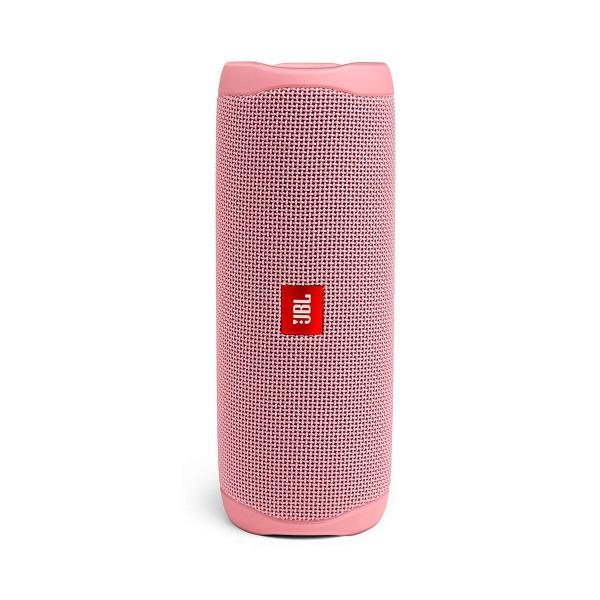 Jbl flip 5 rosa inalámbrico bluetooth 20w amplificador integrado resistente al agua