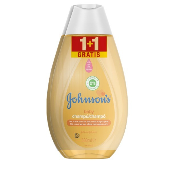 Johnson's Baby Champú Clásico 500 ml + 500 ml GRATIS