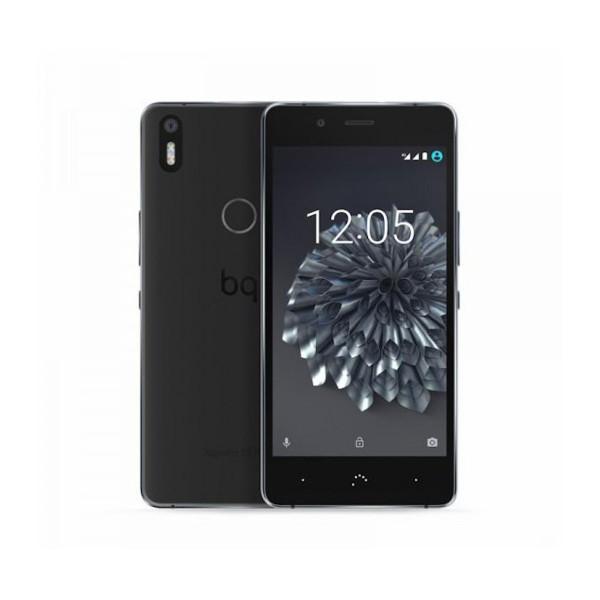 Bq aquaris x5 plus negro móvil 4g 5'' ips fhd/8core/16gb/2gb ram/16mp/8mp