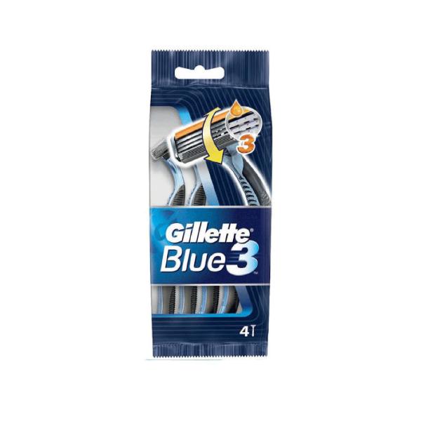 Gillette maquinillas Blue3 4 uds