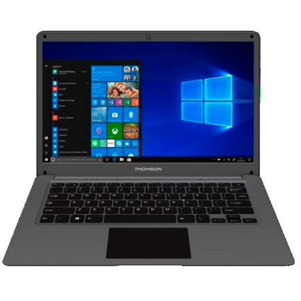 Thomson neo14c negro portátil 14'' lcd led hd celeron-n3350 1.1ghz emmc 64gb + hdd 500gb 4gb ram windows 10 s