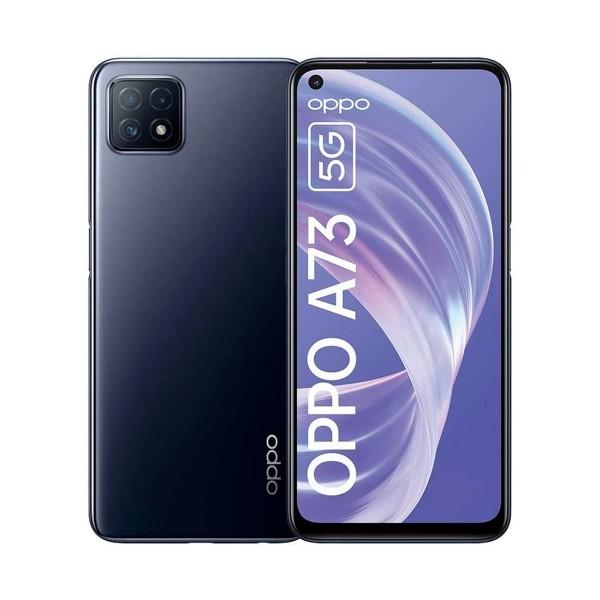 Oppo a73 azul marino móvil 5g dual sim 6.5'' 90hz fhd+ octacore 128gb 8gb ram tricam 16mp selfies 8mp