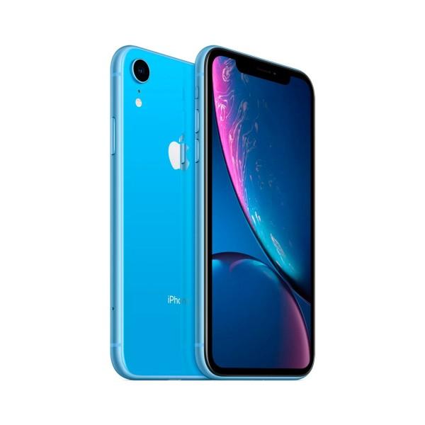 Apple iphone xr 128gb azul reacondicionado cpo móvil 4g 6.1'' liquid retina hd led hdr/6core/128gb/3gb ram/12mp/7mp