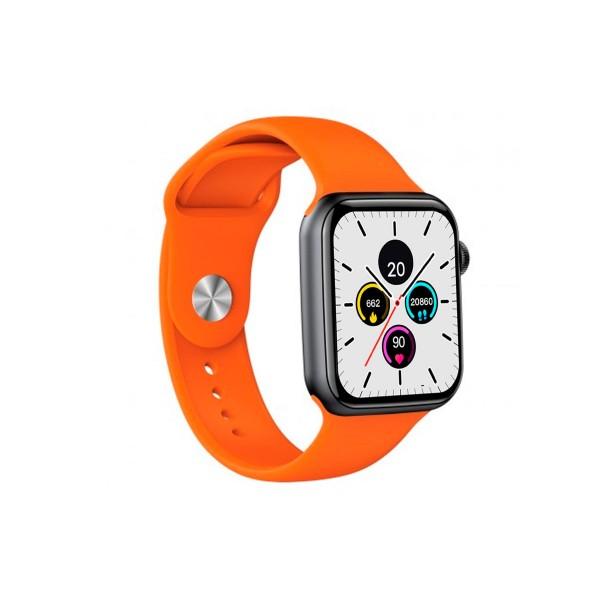 Dcu colorful bluetooth smartwatch negro + naranja