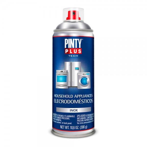 Pintura en spray pintyplus tech inox electrodomésticos e150 spray 520cc