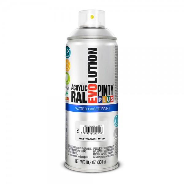 Pintura en spray pintyplus evolution water-based 520cc m199 barniz mate